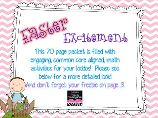 Easter Math FREEBIE!