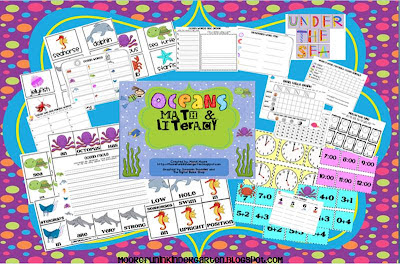 Oceans of Fun Math & Literacy Pack