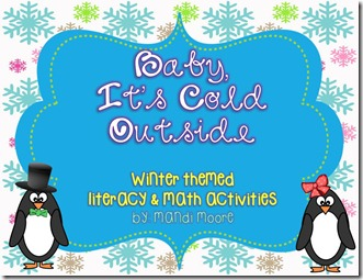 Baby, it's Cold Outside Freebie!