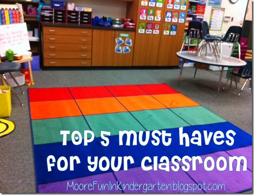 5 Must-Haves For My Classroom
