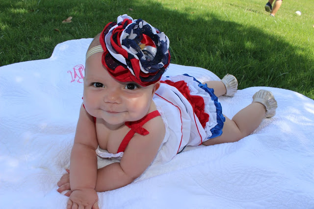 Red, White and CUTE: 4th of July 2015