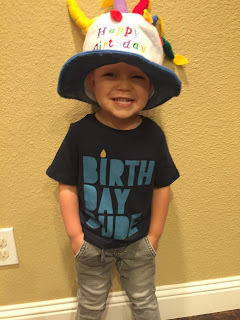 Maddox is THREE- Celebration