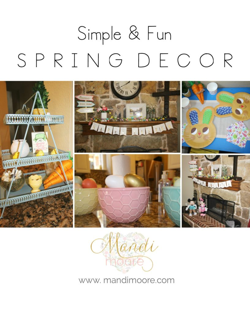 Simple Spring Decor