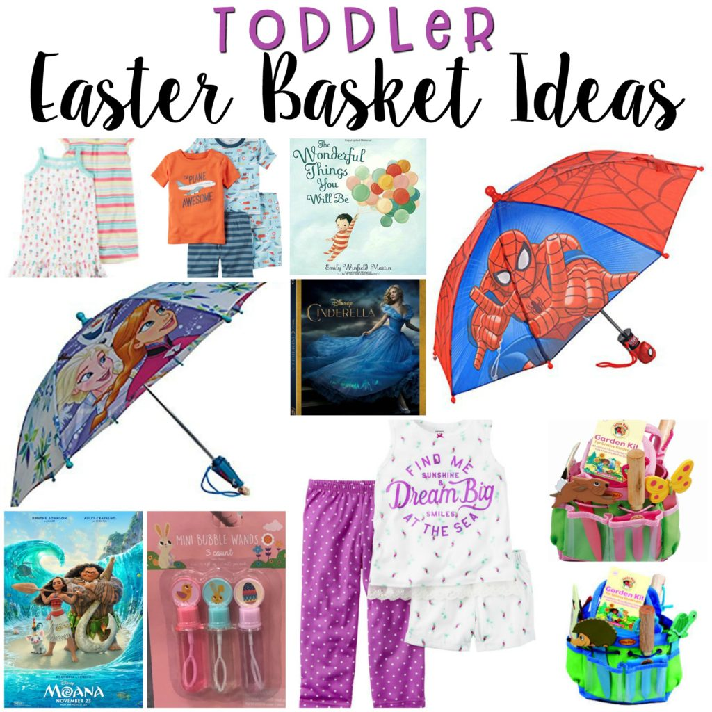 Easter Baskets {for Toddlers}