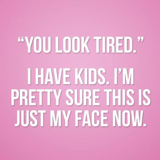 Confessions of a tired Teacher/Mama