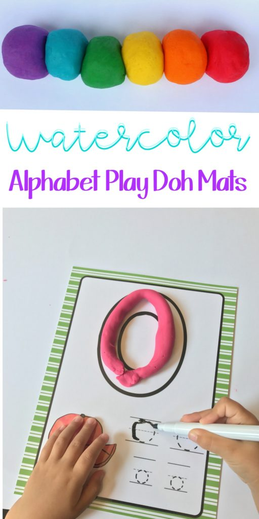 Playdough Learning Mats