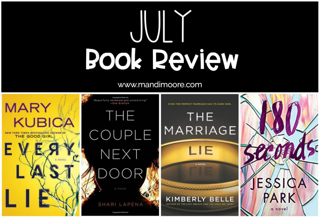 July Book Review